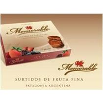 Caja De Alfajores Memorable De Fruta Fina X 6 Unidades