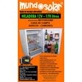 Heladera 12v Solar 170 Litros, Hace Hielo, Motorhome