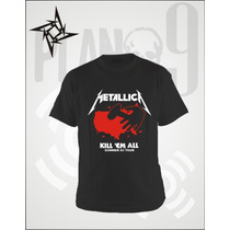 Remeras Estampadas Metallica
