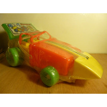 Auto Carreras,6 En 1,juguetes Arena,riverplast,ind Arg.nuevo