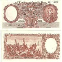 Billete 100 ´pesos Mmoneda Nacional Botero 2078 S/c-