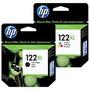 Cartucho Hp 122xl Negro+color Originales Pack Dual Hp 122 Xl