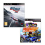 Combo Need For Speed Rivals + Modnation Racers / Ps3 Digital