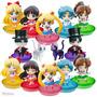 Sailor Moon Figuras Puchi Chara Set De 6 Figuras Nuevas