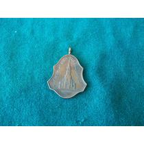 Antigua Medalla Parana Pueblo Brugo 1901 Piedra Iglesia
