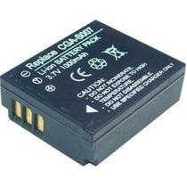 Batería Litio-ion Cga-s007 3.7v P/ Lumix Tz1 Tz2 Tz3 Tz4