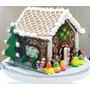 Casita De Cookies Y Caramelos Decorada, Cumpleaños Navidad