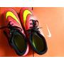 Botines Infantiles Nike Hypervenom Número Us 5y, 23.5 Cm