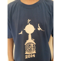 Remeras Estampadas San Lorenzo Libertadores 2014 Campeón !!!