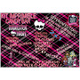 Kit Imprimible Candy Bar Monster High!! Muy Completo!! 2x1!!