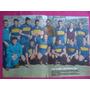 Poster Original Boca Junior Sub-campeon 1950 Profesionalismo