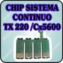 Chip De Repuesto De Sistema Continuo Para Epson Tx220 Cx5600