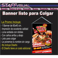 Banners Personalizados 60x40cm Gigantografías Ploteos Baner