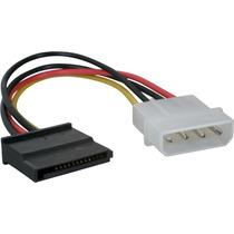 Cable De Power Sata Adaptador Molex A Sata Local Enfloresta