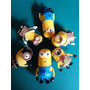 Minions Coleccion 6 Muñecos 2015 Deco Torta O Juego Zcentro
