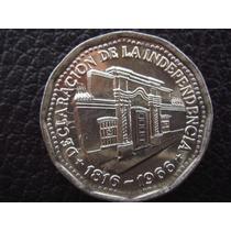 Argentina - Moneda De 10 Pesos Año 1966, Conmemorativa Mb