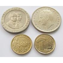25 Pesetas 1982 200 De 1990 5 Pesetas 1993 Y 1997 España!
