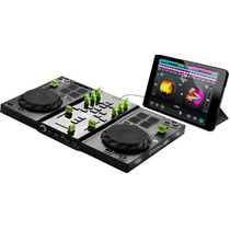 Consola Controlador Dj Hercules Air Ipad Placa Audio Os Pc
