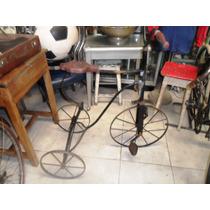 Triciclo Antiguo,victoriano,juguete A Pedal.