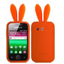 Funda Silicona Conejo Samsung S5360 Galaxy Y Sin Rabito