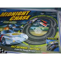 Pista Midnight Chase Antigua Con Vehiculo Mira!!!!!!!