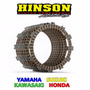 Set 8 Discos Embrague Hinson Yamaha, Suzuki, Honda, Kawasaki