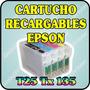 Cartuchos Recargables Para Epson T25 Tx125 Tx135 Sin Tinta