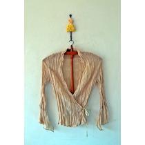Camisa De Vestir Cuzada -estilo Boho Chic