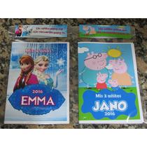 10 Libritos Personalizados Para Colorear Libro C Rompecabeza