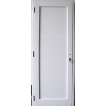 Puerta Aluminio Linea Modena Ciega 100 X 200