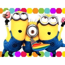 Kit Imprimible Minions Mi Villano Favorito Candy Bar Y Mas