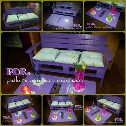 Sillones camastros mesas ratonas hechos con palet for Mesas y sillones hechos con palets