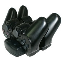 Base Cargador Doble De Joystick Sony Ps3