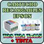 Cartuchos Recargables Para Epson T23 T24 Tx105 T11 Con Tinta