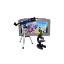 Kit Braun Telescopio Microscopio Mtk Con Tripode