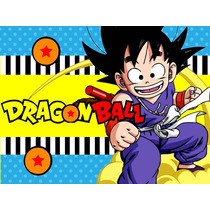 Kit Imprimible Dragon Ball Candy Bar Golosinas Y Mas