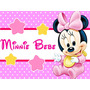 Kit Imprimible Minnie Bebe Candy Bar Golosinas Y Mas