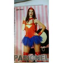 Disfraz Mujer Maravilla Pasionel.anyyyani Sexshop