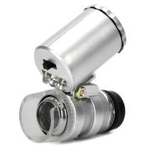 Lupa Microscopio Relojero De Alta Graduacion Con Luz Led 60x