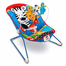 Silla Mecedora Fisher Price C/vibración Y Animalitos