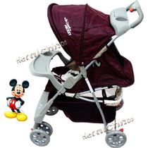 Coche Cuna + Paseo + Cubrepies + The Original Mickey Capital