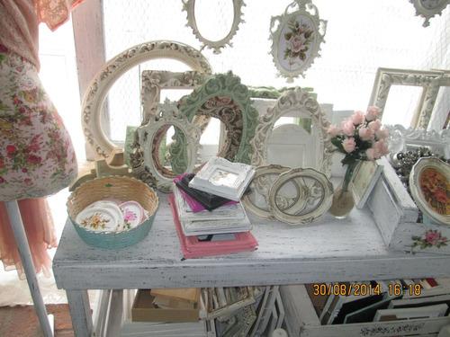 Marcos replicas antiguos shabby chic decoracion vintage - Decoracion vintage chic ...