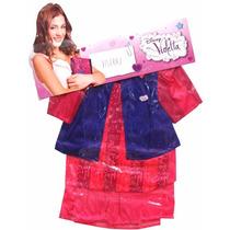Disfraz Violetta Con Chaqueta! Talle- Minijuegosnet