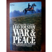 War & Peace Guerra Y Paz En Inglés Completa Leo Tolstoy