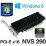 Placa Video Nvidia Quadro Nvs 290 256mb Pci Express X16