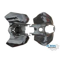 Kit Guardabarros Mondial Fd 200 Rs (negro)