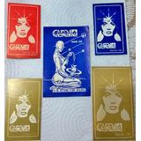 Lote X 5  Tarjetas Entrada Disco Cuernavaca  Años 80 Quilmes