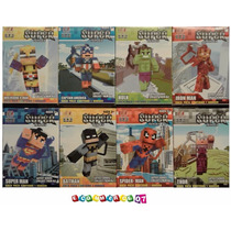 Minecraft - Super Heroes X 8 - Llaveros - 7cm. E-commerce07