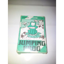 Antiguo Jueguito Casio Cg-127 Caja Y Manual Jumping Frog