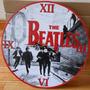 Reloj De Pared De Madera The Beatles Modelos Regalo Original